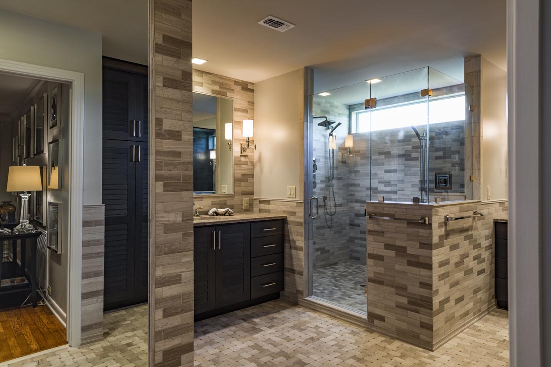 Spacious His and Hers Bath
