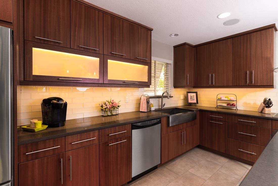 Contemporary Sleek Kitchen 3